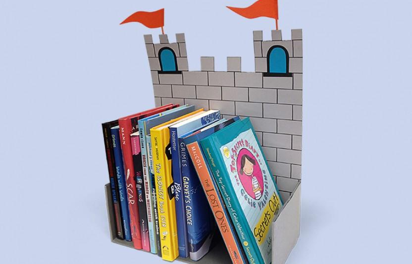 Castle Book Holder