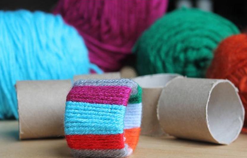 Colorful Napkin Rings