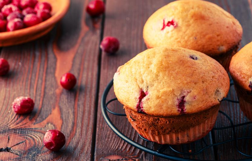 Honestly Irresistible Cranberry Muffins