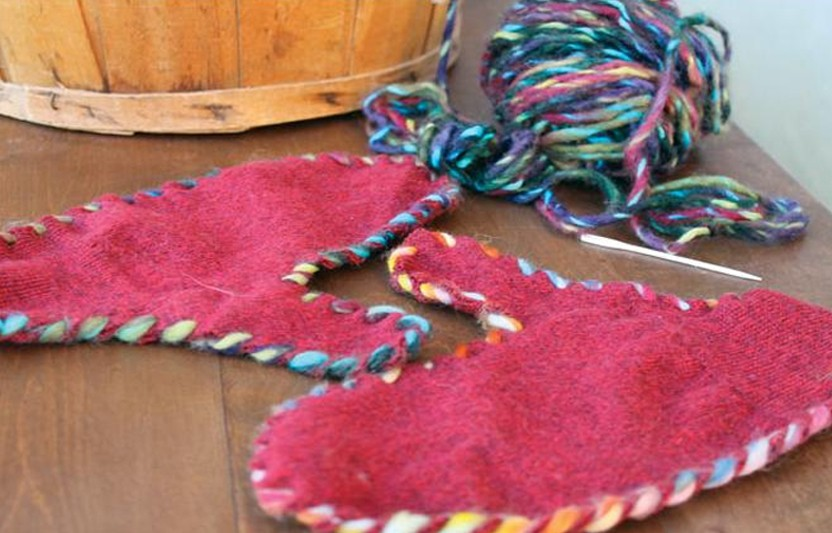 Make Felted Mittens