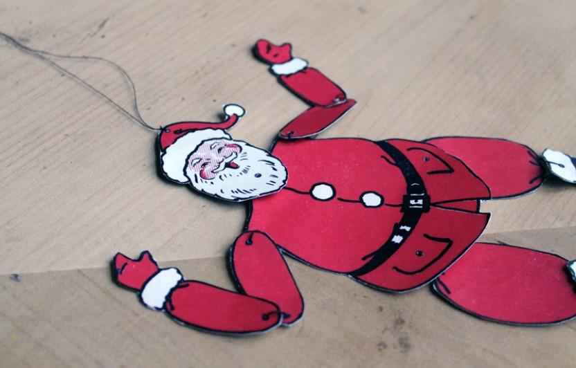 Jolly Santa Printable