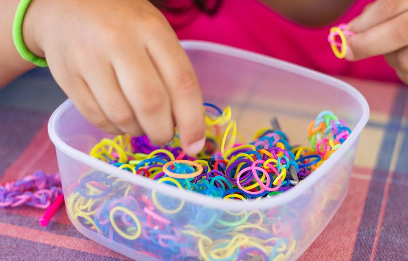 4 Clever Rubber-Band Crafts
