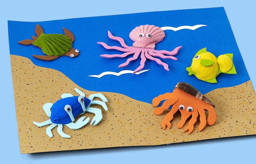 Sea Shell Critters