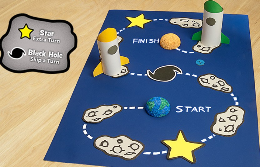 Space-Race Game