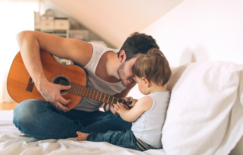 Explore the power of music with your baby.