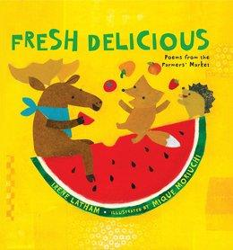 Fresh Delicious | National Poetry Month Booklist