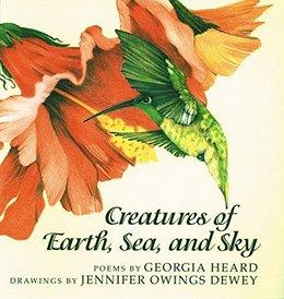 Creatures of Earth, Sea, and Sky | National Poetry Month Booklist