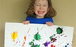 fireworks painting