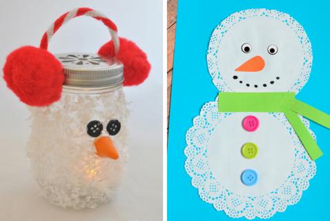18 Snowman Crafts