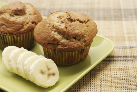 These banana-bread muffins will disappear so quickly you'll think a band of monkeys raided your kitchen!