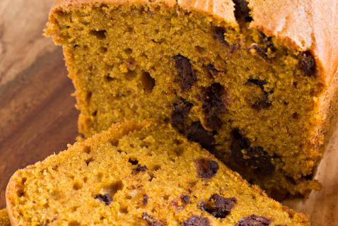 Sweet and Satisfying Pumpkin Chocolate-Chip Bread