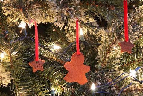 Cinnamon-Scented Ornaments