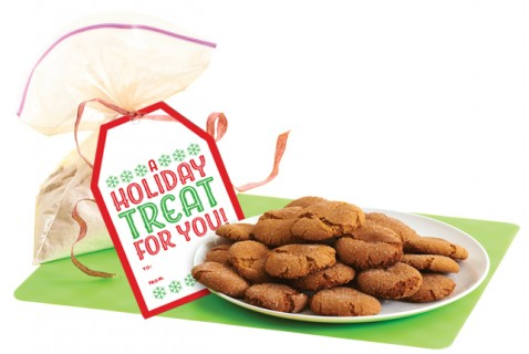 Kids, fill a plastic bag with spicy sugar-cookie ingredients. Mom or Dad, print the recipe card. And presto, you've got a gift that's truly homemade.