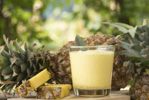 One sip of this smoothie and your kids will think they've escaped to a tropical paradise.