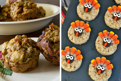 Get your young chefs excited for dinner by involving them in the kitchen with these kid-friendly Thanksgiving recipes!