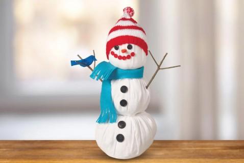 No-Snow Snowman