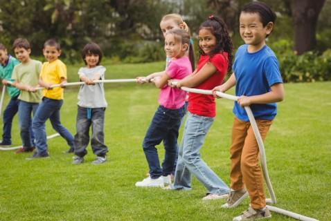 6 High-Spirited Outdoor Games