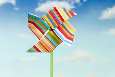 Origami Pinwheel