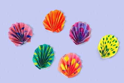 """Painted """"Seashells"""""""