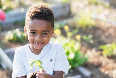 Plant a Child-Size Garden