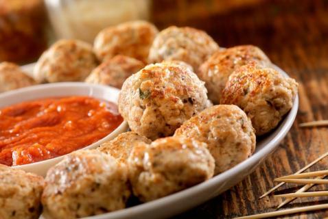 20-Minute Prep Mini Turkey Meatballs