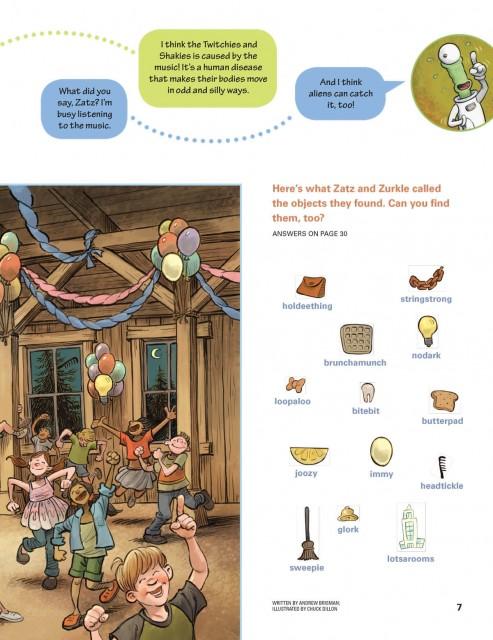 "Eagle-Eye Hidden Pictures: ""Zatz and Zurkle"" featured puzzle page 2"