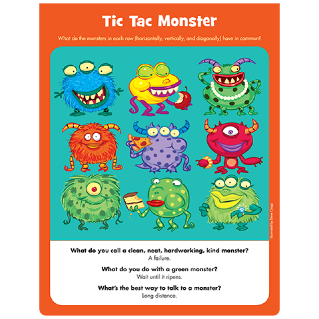 Tic Tac Monster