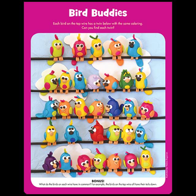 Bird Buddies Puzzle