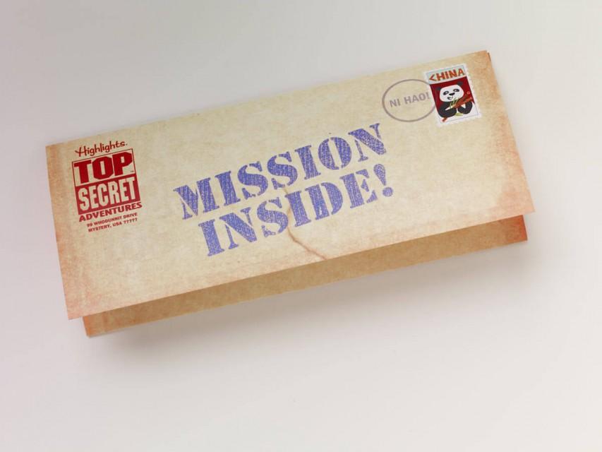Mission letter