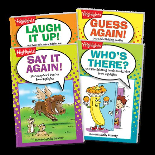 Joke Books 4-Book Set