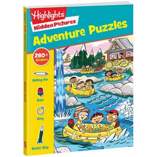 Hidden Pictures Adventure Puzzles