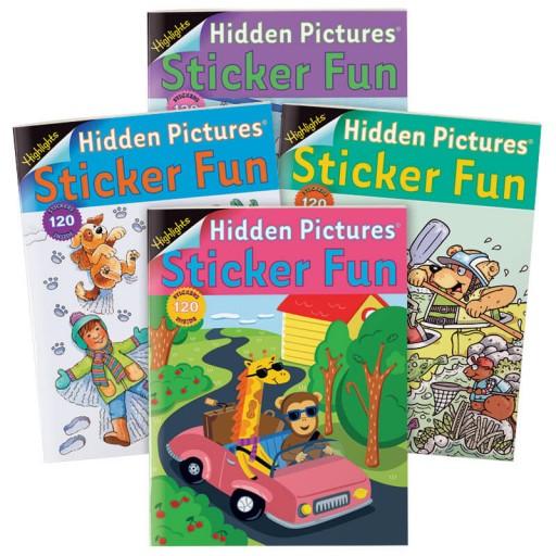 Hidden Pictures Sticker Fun