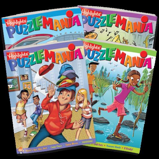 Puzzlemania 4-Book Set