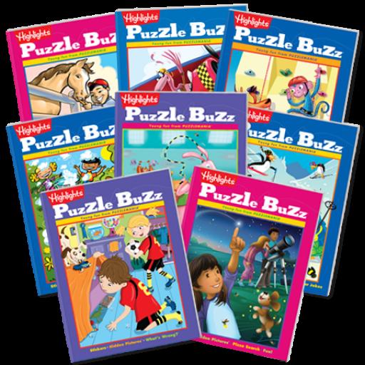 Puzzle Buzz 8-Book Set