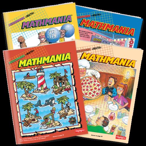 Mathmania 4-Book Set