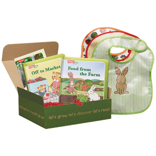 LET'S EAT Play & Learn BOX