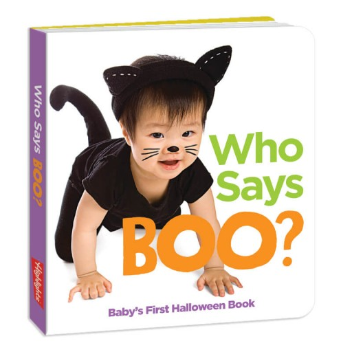 Who Says Boo Book
