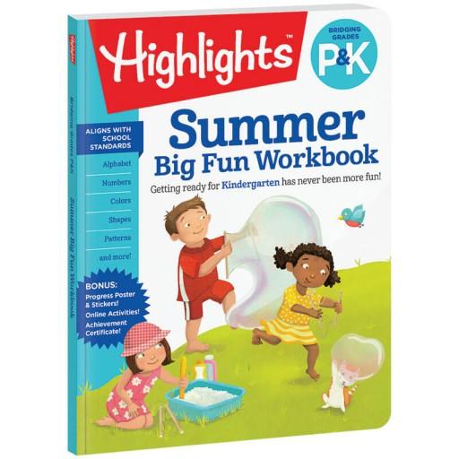 Bridging P and K Summer Workbook