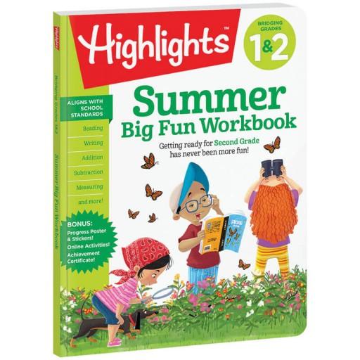 Summer Big Fun Workbook Bridging Grades 1 and 2