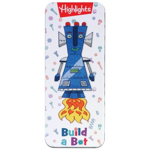 Highlights Magnetic Build a Bot Tin