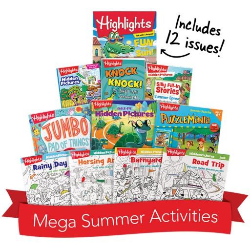 Mega Summer Activity Box