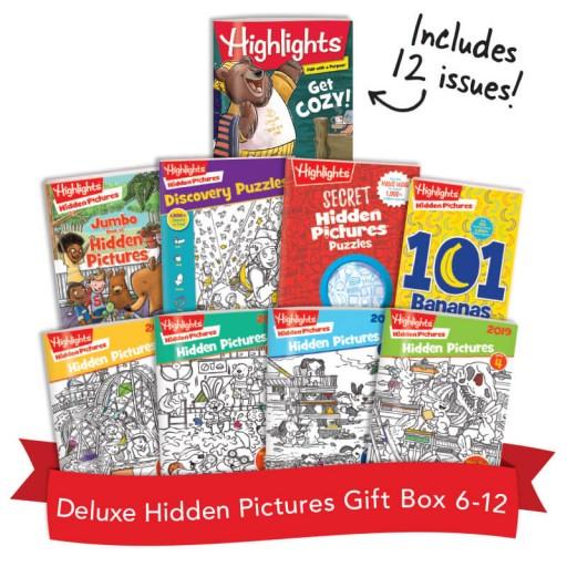 Deluxe Hidden Pictures Gift Box
