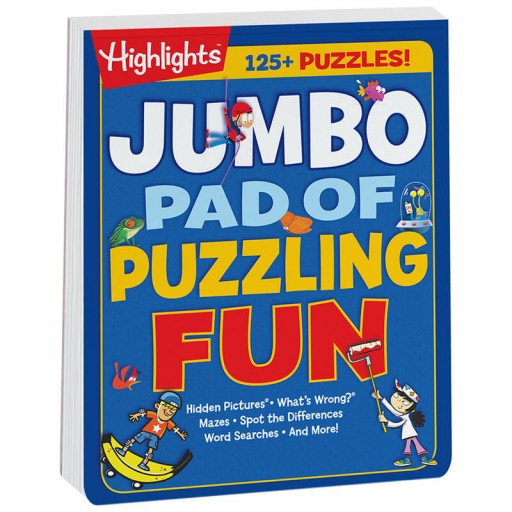 Jumbo Pad of Puzzling Fun