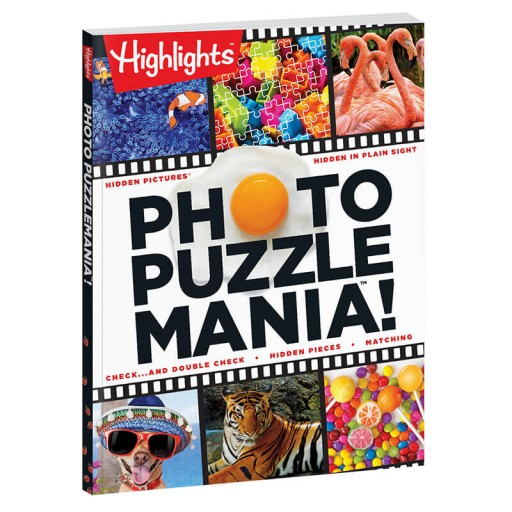 Photo Puzzlemania Book