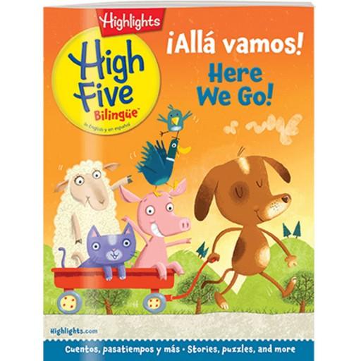 High Five Bilingue Magazine