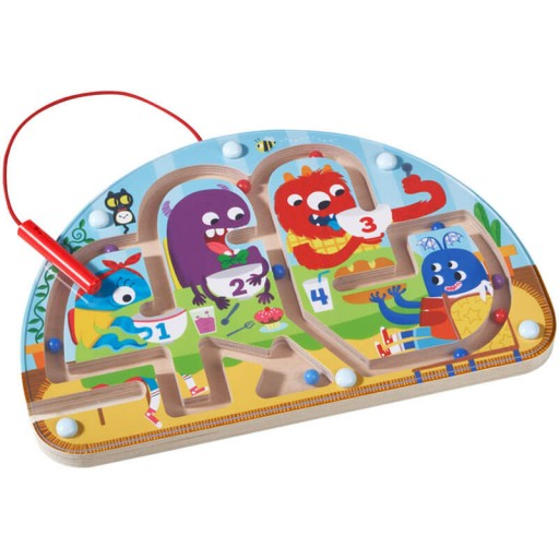 Monsters Munch Magnetic Maze