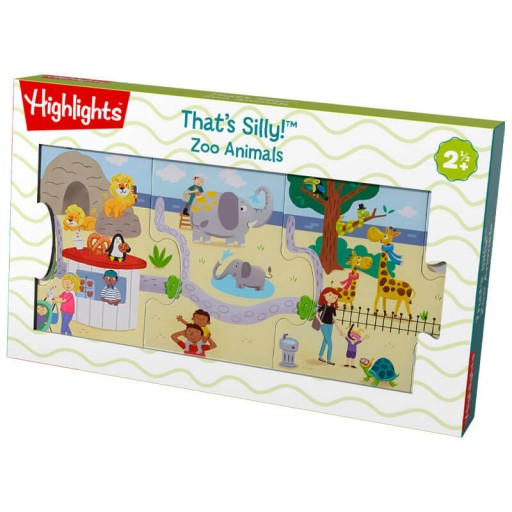 That's Silly Zoo Animals Puzzle