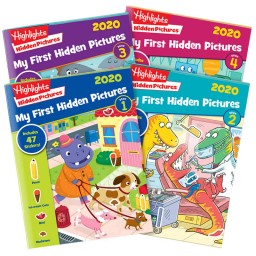 My First Hidden Pictures 2020 4-Book Set