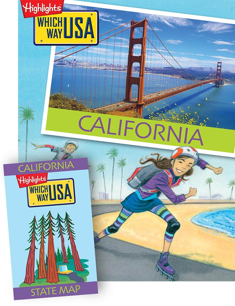 Geography Books for Kids with USA Puzzles – Map Usa Game